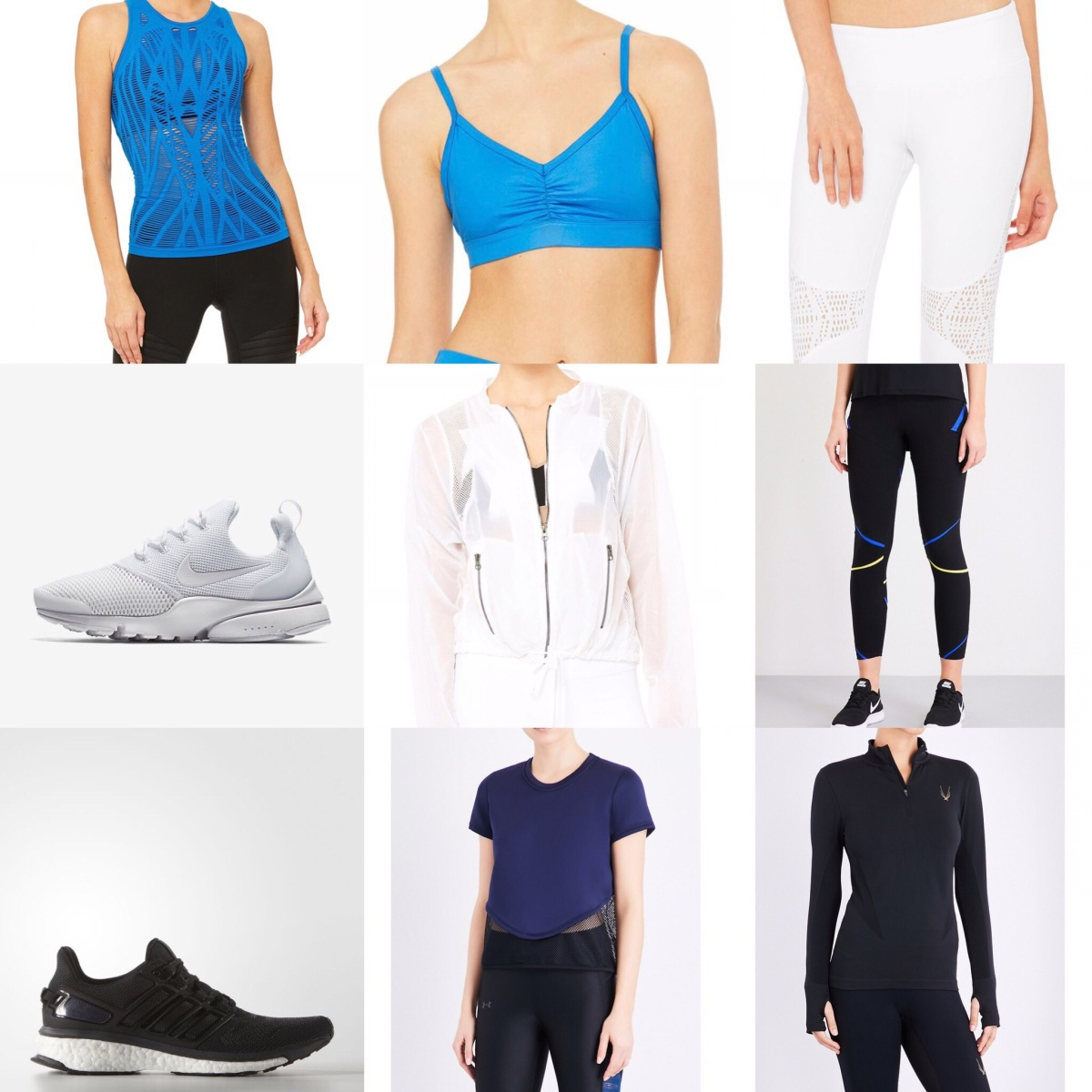 My Top Three Workout Outfits